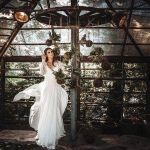 Decoración bodas kokedamas